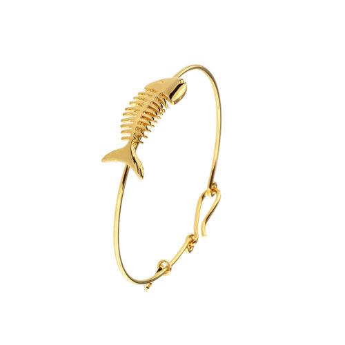 Fishbone Clip Bracelet