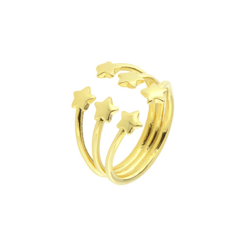 Six Stars Open Ring